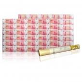 中国银行100周年纪念钞30连体整版钞(香港中银大炮筒)后四位无4
