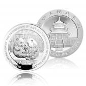 2009年农业银行成立熊猫加字1盎司本银币