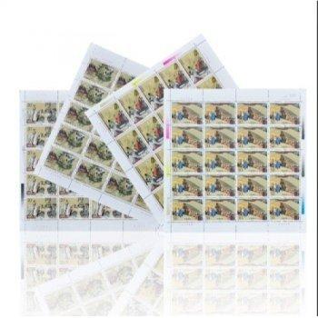 中国古典文学名著--1992-9三国演义大版邮票(第三组)