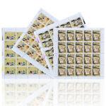 中国古典文学名著--T131三国演义大版邮票(第一组)