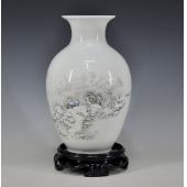 景德镇陶瓷器 古典家居饰品摆件花瓶