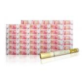 中国银行100周年纪念钞30连体整版钞(香港中银大炮筒)尾无4