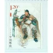关帝圣庙连体明信片纪念邮票