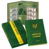 《财富经典》 四连体美元钞珍藏册