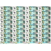 菲律宾5Piso 32连体整版钞