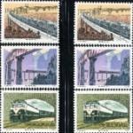 T36 铁路建设邮票