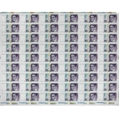 联邦德国1999版10 Deutsche Mark 54连体整版钞