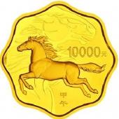 2014马年金银币 1公斤梅花本金币