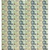 巴哈马$1 40连体整版钞