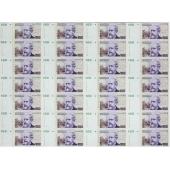 阿根廷100Pesos 28连体整版钞