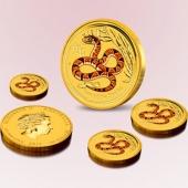 澳洲2013癸巳(蛇)年生肖金币大全套、澳洲蛇年生肖金币大全套