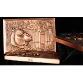 12兽首图纪念大铜章