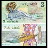 库克群岛1987年$3单张