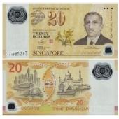 新加坡$20 塑料钞