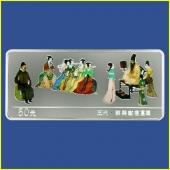 2001年韩熙载夜宴图5盎司彩色银币