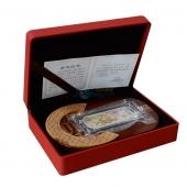 上海造币 2012龙年纯银纪念银条50克