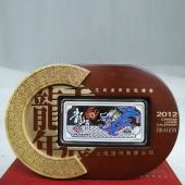 上海造币 2012龙年纯银纪念银条30克