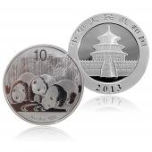 中国金币总公司 2013年1盎司熊猫银币原封整版(30枚)