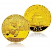 2014年熊猫金币 5盎司 圆形金币
