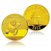 2014年熊猫金币1公斤 圆形精制金币