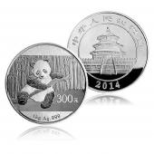 2014年熊猫银币 1公斤 圆形精制银币