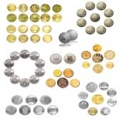 国宝币王66枚/国宝币王珍藏册-中港澳台官方银行发行的龙头纪念币