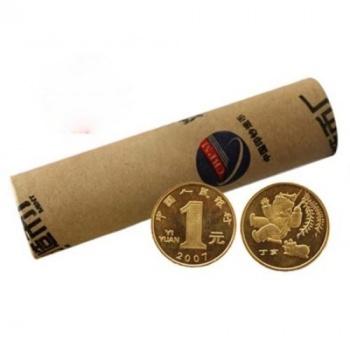 2007丁亥猪年贺岁生肖纪念币 猪年纪念币 整卷(50枚) 猪整卷