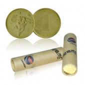 2012壬辰龙年生肖贺岁纪念币 龙年纪念币 整卷(50枚) 龙整卷龙