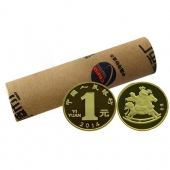 2014甲午马年贺岁生肖纪念币 马年纪念币  整卷(50枚) 马整卷马