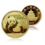 2015年5盎司熊貓金幣 15年五盎司金貓 熊貓金銀幣