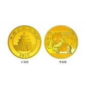 2015年1公斤熊猫金币 15年一公斤金猫 熊猫金银币