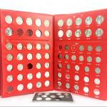 1955-2013年第二套人民币面值1分2分5分硬币72枚钱币带收藏册  1955年-1992年硬币(不含五大天王和四小龙),品相非全新!