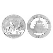 2016年熊猫银币一盎司熊猫纪念银币