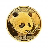 2018年熊猫金币纪念币 熊猫金银币 30克金币