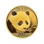 2018年熊貓金幣紀念幣 熊貓金銀幣 30克金幣