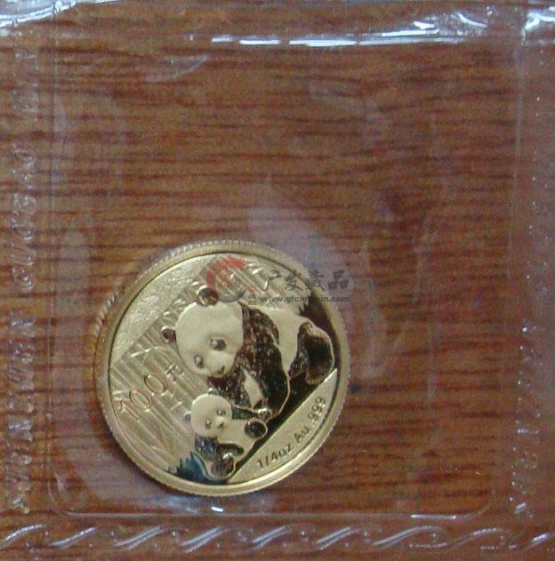 熊猫金币2012