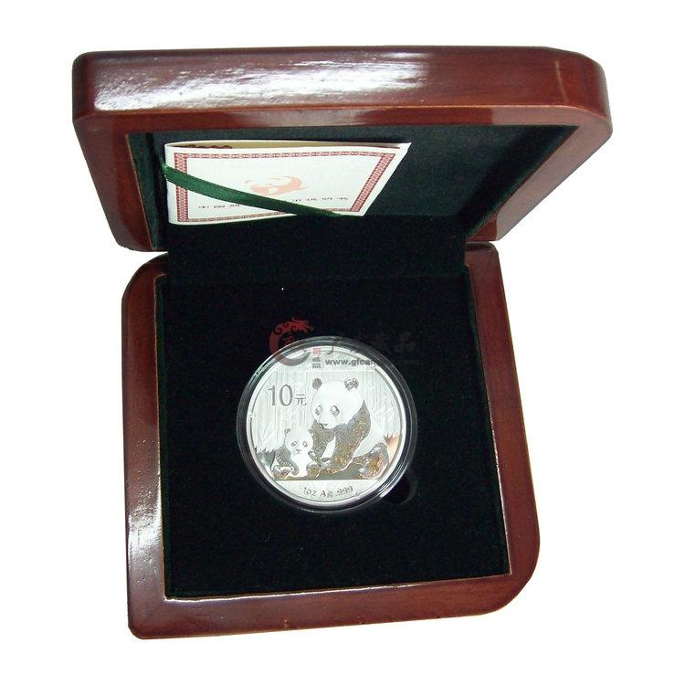 2012熊猫银币