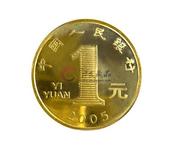 2005年鸡年纪念币-广发藏品