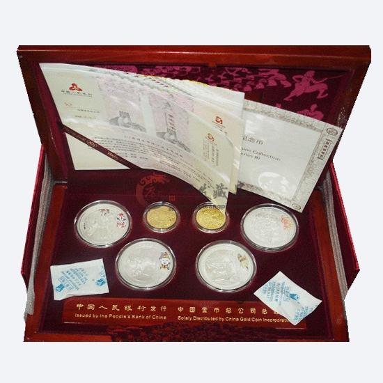 奥运会第二组金银币