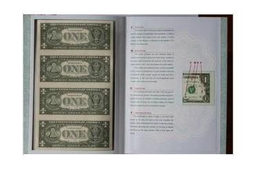 1美元四连体1