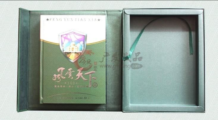 钱币收藏 《风云天下》外国纸币硬币邮票珍藏册礼盒