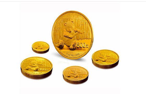 熊猫金币的价格有所下跌