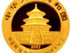 中国熊猫金币发行25周年1/25盎司纪念金币