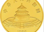1986年12盎司熊猫金币
