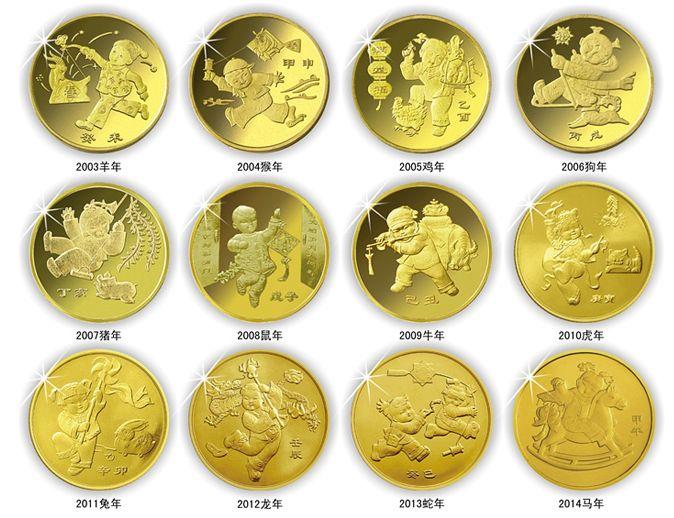 最具收藏价值的藏品—第一轮十二生肖纪念币