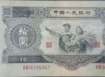 大黑十纸币收购价格表