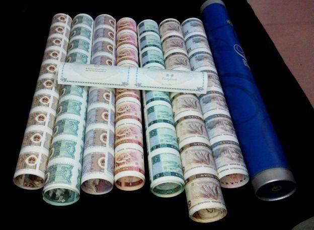 大炮筒人民币整版钞价格