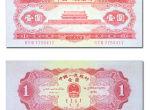 1953年红一元价格波动之中见稳定