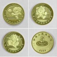 北京奥运会(第3组)流通纪念币