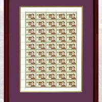 伟人整版珍邮邮票油画珍藏册